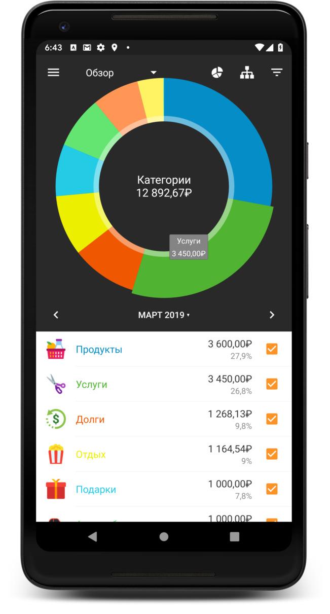 Домашняя бухгалтерия андроид скачать декларация на возмещение ндфл за учебу скачать